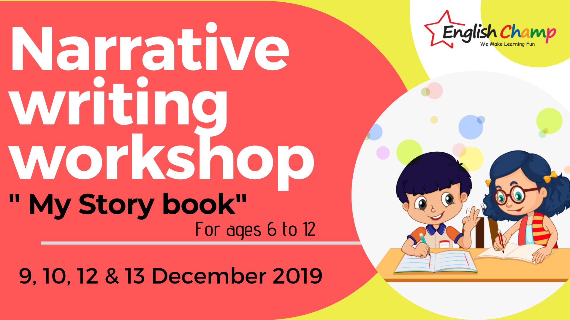 "Narrative Writing Workshop- ""My Story Book"" 1"